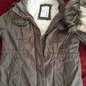 American Eagle Fleece Lined Jacket
